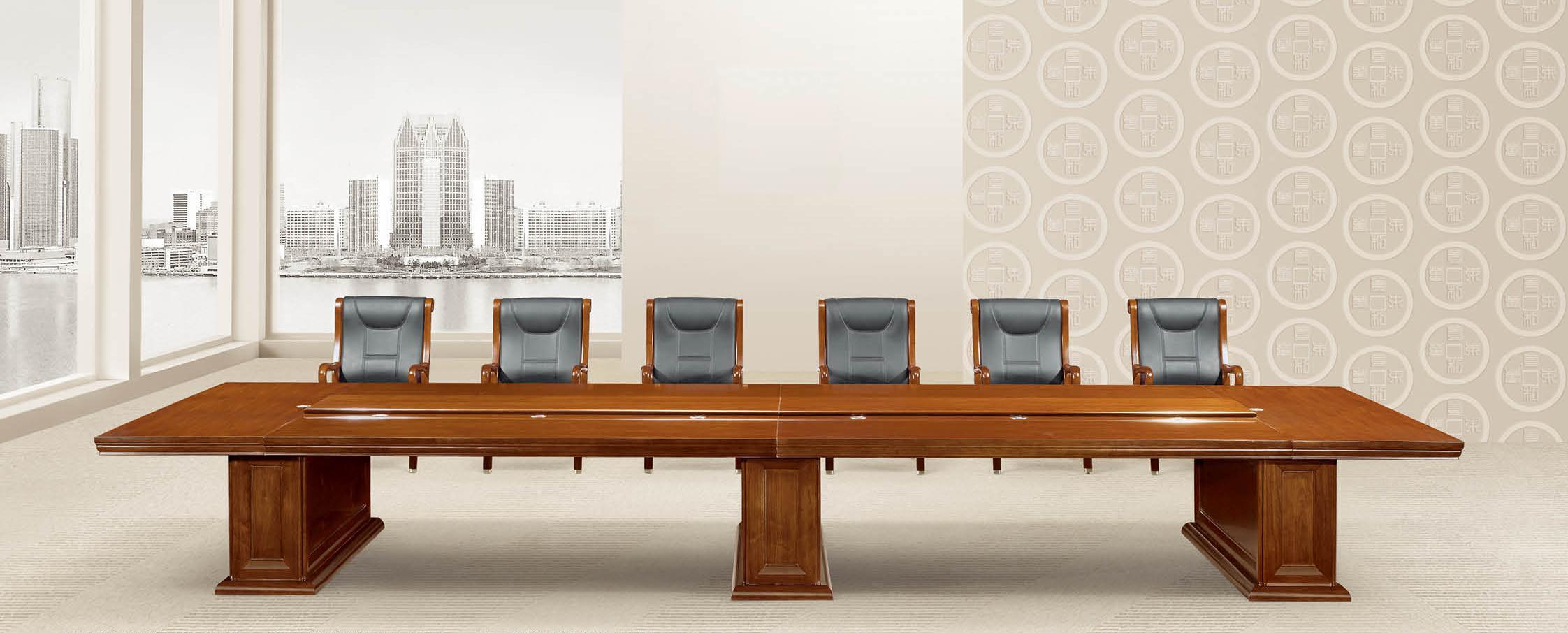 武汉会议桌|实木会议桌|07系列会议桌-武汉办公家具